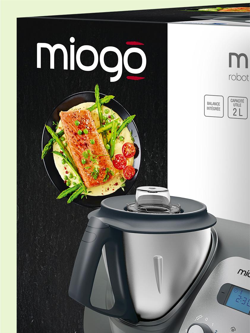 Photo packaging Miogo Boulanger