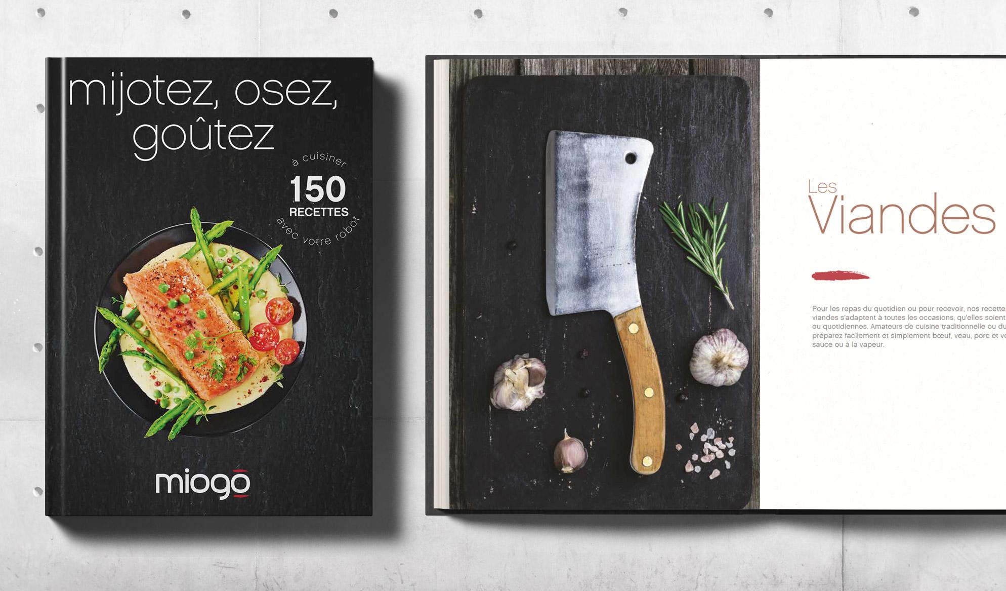 Photo livre recette Miogo Boulanger
