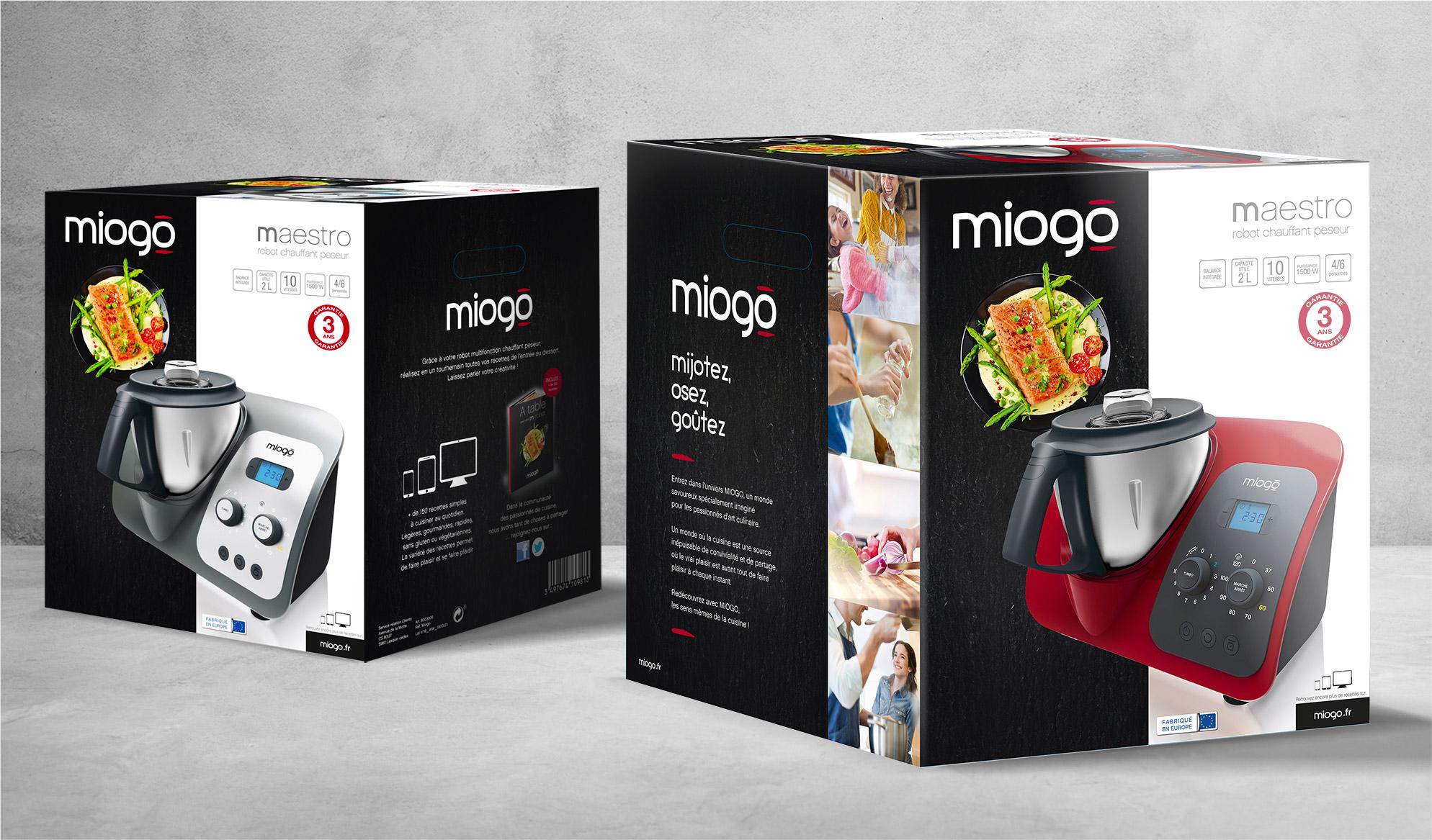Photo packaging Miogo Maestro Boulanger