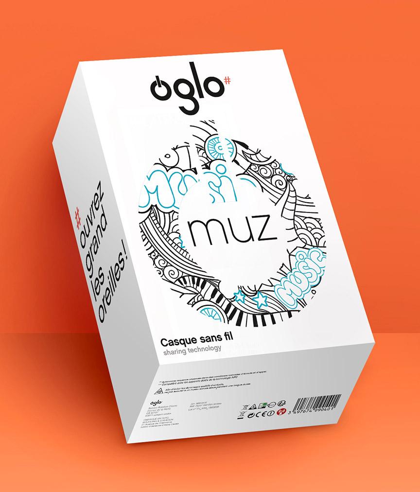 Photo packaging casque Oglo Boulanger