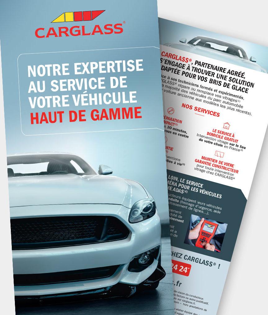 Image flyer opération Carglass
