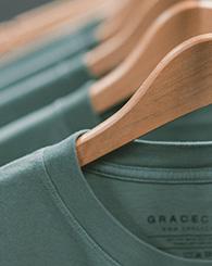 Photo cintres tshirts