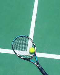 Photo tennis raquette
