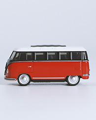 Photo jouet bus rouge
