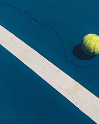 Photo terrain de tennis